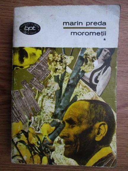 Anticariat: Marin Preda - Morometii (volumul 1)