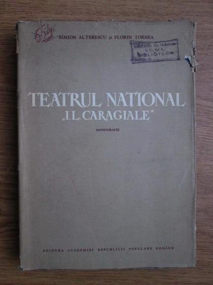 Anticariat: Simion Alterescu - Teatrul National I.L. Caragiale