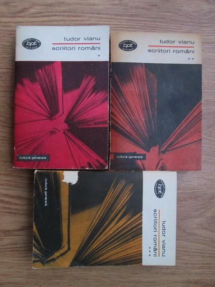 Anticariat: Tudor Vianu - Scriitori romani (3 volume)