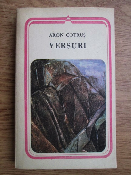 Anticariat: Aron Cotrus - Versuri
