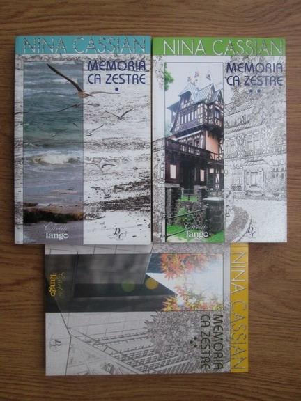 Anticariat: Nina Cassian - Memoria ca zestre (3 volume)