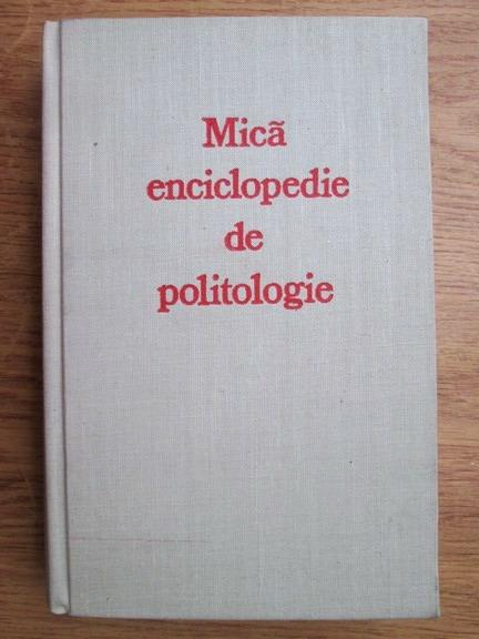 Anticariat: Ovidiu Trasnea - Mica enciclopedie de politologie