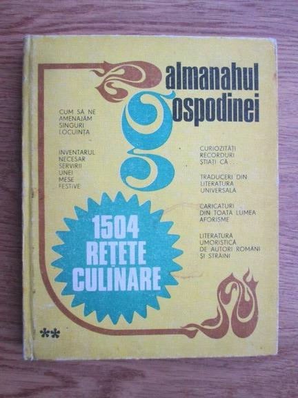 Anticariat: Almanahul gospodinei 1983. 1504 retete culinare