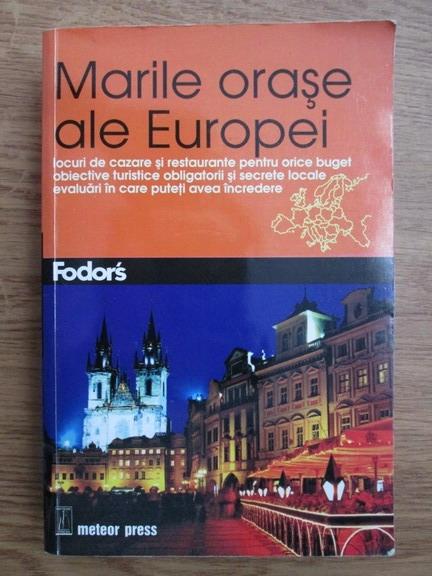 Anticariat: Marile orase ale Europei