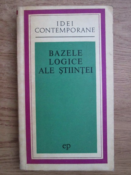 Anticariat: P. V. Kopnin - Bazele logice ale stiintei