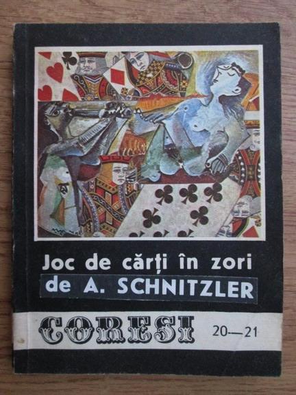 Anticariat: Arthur Schnitzler, Roald Dahl - Joc de carti in zori (Revista Coresi nr. 20-21)