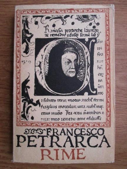 Anticariat: Francesco Petrarca - Rime