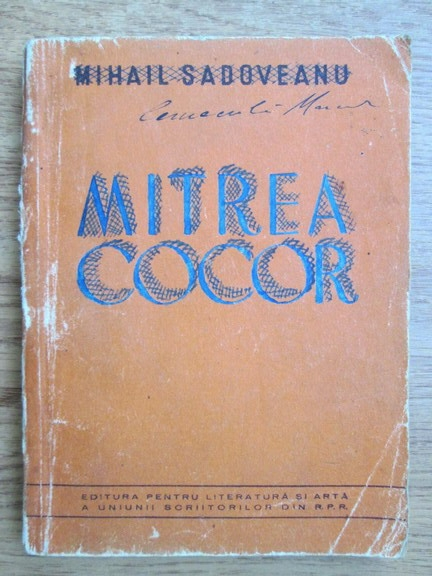 Anticariat: Mihail Sadoveanu - Mitrea Cocor