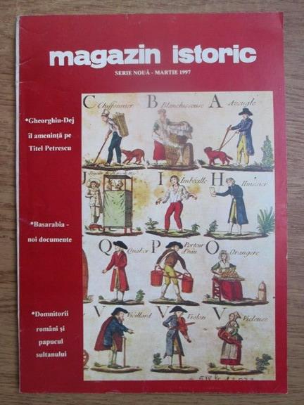 Anticariat: Magazin istoric, anul XXXI, nr. 3(360), martie 1997