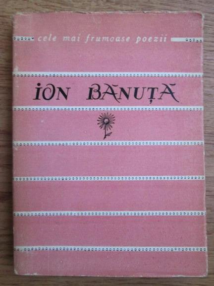 Anticariat: Ion Banuta - Versuri