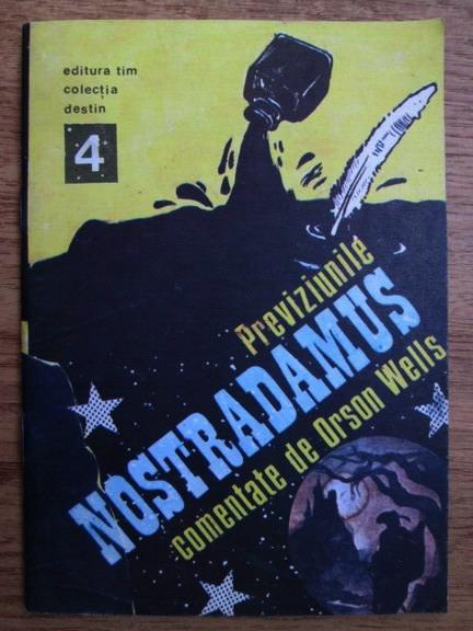 Anticariat: Previziunile Nostradamus comentate de Orson Wells