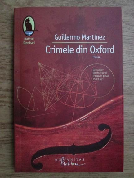 Anticariat: Guillermo Martinez - Crimele din Oxford
