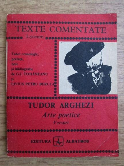 Anticariat: Tudor Arghezi - Arte poetice. Versuri