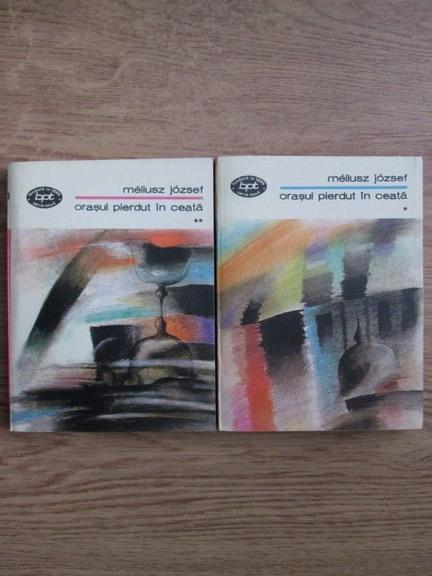 Anticariat: Meliusz Jozsef - Orasul pierdut in ceata (2 volume)
