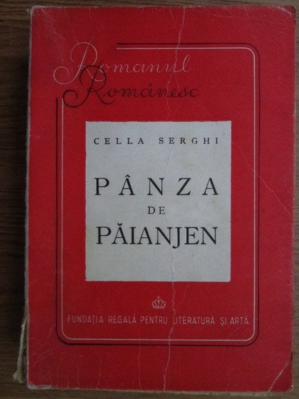 Anticariat: Cella Serghi - Panza de paianjen (1946)