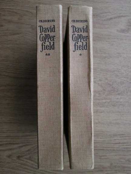 Anticariat: Charles Dickens - Viata lui David Copperfield (2 volume)