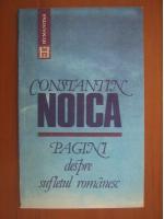 Anticariat: Constantin Noica - Pagini despre sufletul romanesc