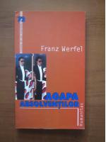 Anticariat: Franz Werfel - Agapa absolventilor