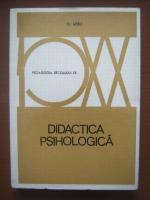 H. Aebli - Didactica psihologica
