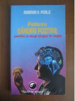 Norman Vincent Peale - Puterea gandirii pozitive