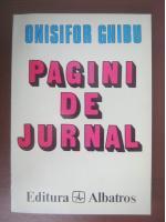 Anticariat: Onisifor Ghibu - Pagini de jurnal (volumul 1, 1935-1963)