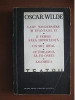 Anticariat: Oscar Wilde - Teatru
