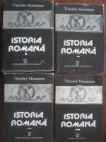 Anticariat: Theodor Mommsen - Istoria Romana (4 volume)
