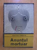 Anticariat: Agatha Christie - Anuntul mortuar