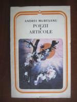 Andrei Muresanu - Poezii si articole