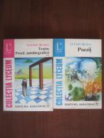 Lucian Blaga - Teatru, Proza autobiografica, Poezii (2 volume)