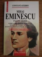Anticariat: Constanta Barboi - Mihai Eminescu. Pagini alese