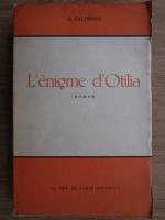 Anticariat: George Calinescu - L'enigme d'Otilia