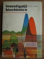 Gheorghe Nuta - Investigatii biochimice