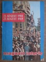 Anticariat: Magazin istoric, anul XXIII, nr. 8 (269), august 1989