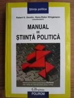 Robert E. Goodin, Hans Dieter Klingemann - Manual de stiinta politica