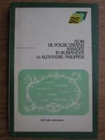 Alexandru Philippide - Flori de poezie straina rasadite in romaneste