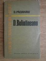 Anticariat: Dim. Pacurariu - D. Bolintineanu