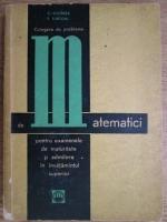 Anticariat: Fanica Turtoiu, Cezar Cosnita - Culegere de probleme de matematici