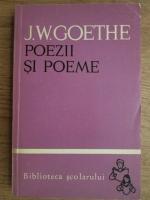 Anticariat: Goethe - Poezii si poeme