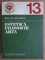 Anticariat: Ion Ianosi - Estetica. Filosofie. Arta