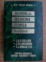 Anticariat: J. A. B. Collier - Manual de medicina clinica. Specialitati