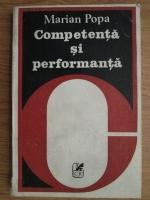 Marian Popa - Competenta si performanta