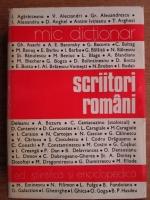 Anticariat: Mircea Zaciu - Mic dictionar. Scriitori romani