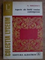 Anticariat: N. Mihaescu - Aspecte ale limbii romane contemporane