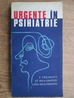 Vasile Predescu - Urgente in psihiatrie