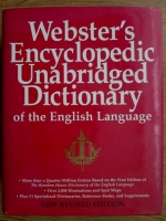 Anticariat: Webster's Encyclopedic Unabridged Dictionary of the English Language