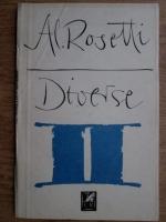 Anticariat: Alexandru Rosetti - Diverse