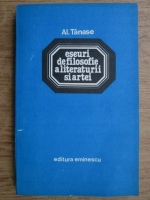 Alexandru Tanase - Eseuri de filosofie a literaturii si artei