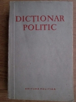 Anticariat: B. N. Ponomarev - Dictionar politic