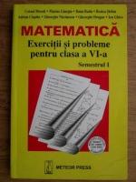 Anticariat: Cornel Moroti - Matematica. Exercitii si probleme pentru clasa a VI-a. Semestrul I